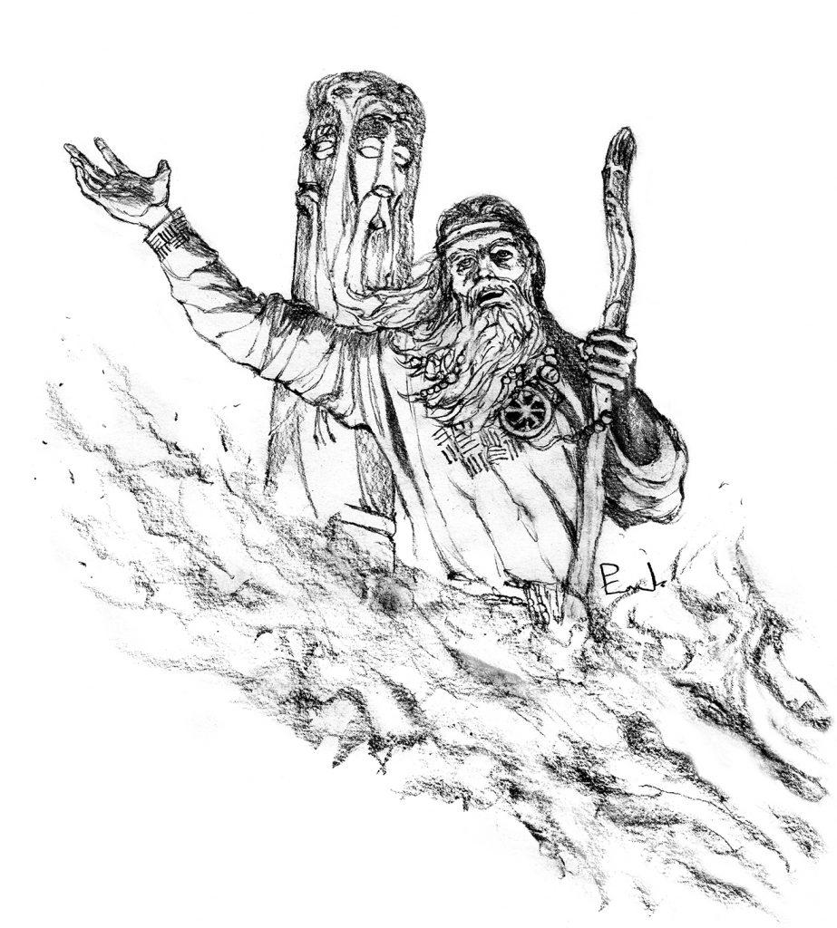 słowiański żerca kapłan